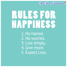 Cute Happy Quotes New Rules For Happiness