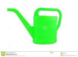 plastic watering pot