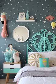 girl room wall paint ideas. more fun childrens bedroom ideas for girls on the blog using mimilou decals   colorful kids girl room wall paint