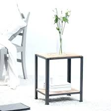 white metal side table side table small metal furniture white end nautical round coffee tables country