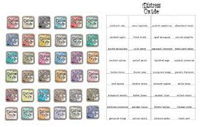 Amazon Com Tim Holtz And Ranger Complete Set Of 36 Distress