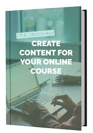 create and sell your own online courses teachable get our course creation book