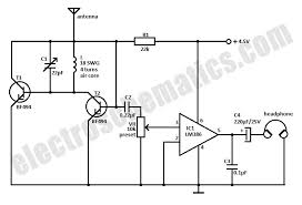 small fm radio circuit small fm radio schematic