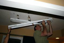 how to install fluorescent light fixture in garage best home ideas installing multiple lights