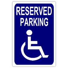 reserved sign templates reserved parking 108 handicap parking sign templates templates