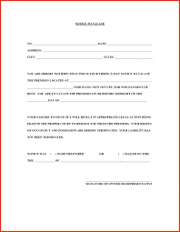 Notice Of Rent Increase Form 040 Day Notice Template Tenancy Letter To Vacate