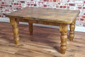 endearing rustic farmhouse coffee table of made from reclaimed pine style antique tables