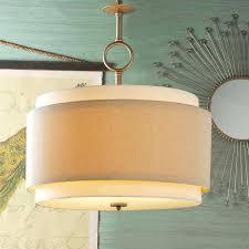 shaded pendant lights drum shade pendant lighting euro farina drum shade with the elegant drum shade
