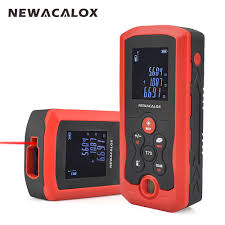 NEWACALOX Infrared LCD Display Digital Thermometer Industrial ...