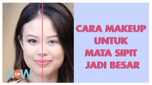 cara makeup untuk mata sipit make up tutorial ft stella amabel