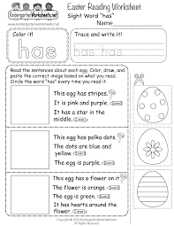 Free interactive exercises to practice online or download as pdf to print. Easter Reading Worksheet For Kindergarten