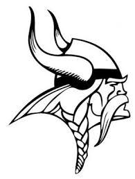 Minnesota Vikings Printables Minnesota Vikings Logo Coloring Page