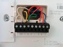 honeywell thermostat wire colors dolgular com honeywell rth2300/rth221 wiring diagram at Honeywell Thermostat Rth2300b Wiring Diagram