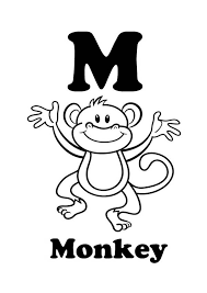 Small Picture Monkey Color Page Little Monkeys Coloring Page Eassumecom With