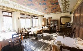 Beyond Walls. Interior Of Empty Restaurant