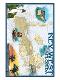 Key West Florida Nautical Chart Art Print By Lantern Press Art Com