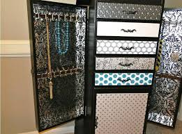 wall hung jewelry armoire wall mount jewelry the 24 wall mounted lighted jewelry armoire
