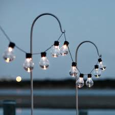 outdoor fairy lighting. 20 Warm White Carnival Solar Festoon Lights Outdoor Fairy Lighting Y