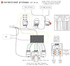 preamp wiring diagrams and schematics nordstrand audio this shows the preamp all the bells and whistles including an active passive push pull on the volume and 2 mid frequencies on a push pull