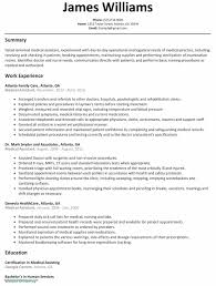 Medical Assistant Resume Example New Medical Assistant Resume Samples Inspirational Resume Examples For