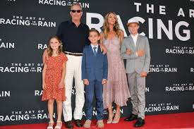 Costner tied the knot with the american model and handbag designer in his ranch in aspen, colorado. Kevin Costner S Youngest Children Are Growing Up And Adorable Wonderwall Com