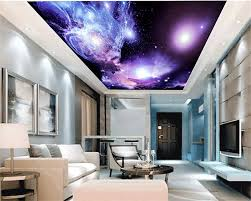 3d mural wallpaper Dreamy Outer Space ...