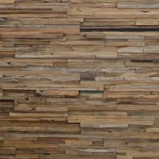 Wood wall design