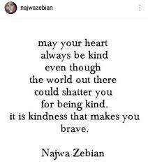 Quotes About Being Kind Adorable 48 Short Poems By Najwa Zebian That Will Lit Up Your Life Again