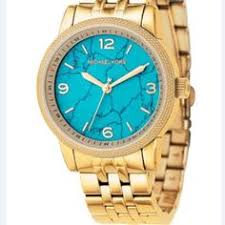 Need this | <b>Michael kors turquoise</b> watch, Turquoise watches, Kor