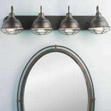 industrial cage lighting. Industrial Cage 4 Light Vanity Lighting U