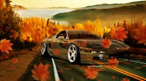 honda nsx jdm crystal nature autumn car