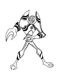 Xlr8 Personaggio Ben 10 Disegni Da Colorare Disegni Da Colorare E