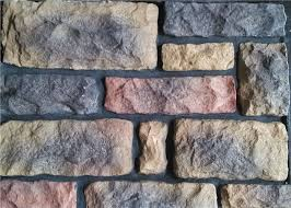 china outdoor faux stone wall panels multi shape faux rock panels supplier