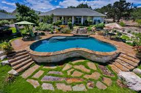 Backyard Pool S Landscaping Pools Contemporary With Picture Of Backyard Pool  Exterior New In