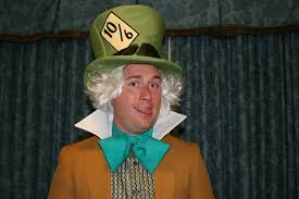my husband as mad hatter for the mickey s not so scary party homemade costume