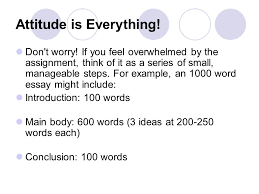 gasp an essay what do i do now attitude is everything don t  2 attitude