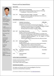 Latest Resume Format Free Download For Freshers Template Latest