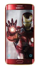 Samsung S6 Edge Red Light Avengers Themed Iron Man Galaxy S6 Edge Will Launch Soon