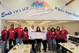 bank of america grant and volunteers support partnership with eva s village