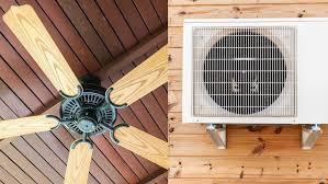 ceiling fan vs aircon