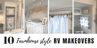 Incredible interior design ideas for your rv camper Airstream If Joanna Gaines Were To Do Makeover On Travel Trailer Or Motorhome Rv Inspiration Incredible Rv Makeovers With Farmhouse Style Decor