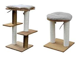 chic cat furniture. Delighful Cat The Boo Range Of Stylish Modern Cat Trees By Martin Sellier Made From  Bamboo Inside Chic Cat Furniture