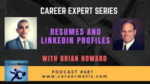 81 Career Expert Series Resumes Linkedin Profiles With Brian