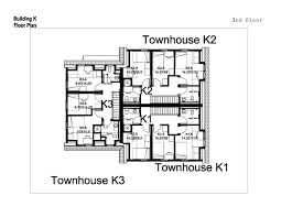 Nigerian Semi Detached House Plans One Level Townhome Floor For