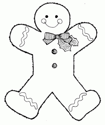 Gingerbread Girl Coloring Pages Coloring Book 118 Get Coloring Page