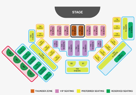 Mgm Arena Seating Chart Thunder From Down Under Seating Chart Mgm Grand Free
