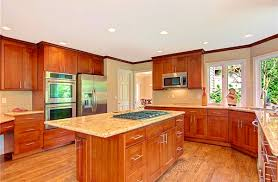 American Made Kitchen Cabinets Bathroom Picturesque American Cherry Double Shaker Pius Kitchen