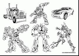 Small Picture Beautiful Transformer Coloring Pages Ideas Coloring Page Design