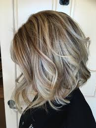 Soft Smokey Blonde Highlights And