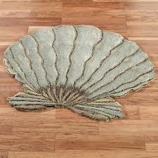 seashell bathroom rugs new coastal area rugs jose style and design rug bedroom placement pink bathroom rug